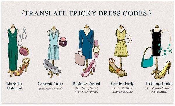 Tipfultuesday Wedding Dress Code